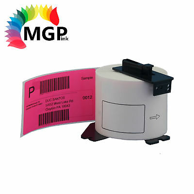 1 Compatible for Brother DK-11202 Shipping Pink Label 62mm x100mm QL570 QL700