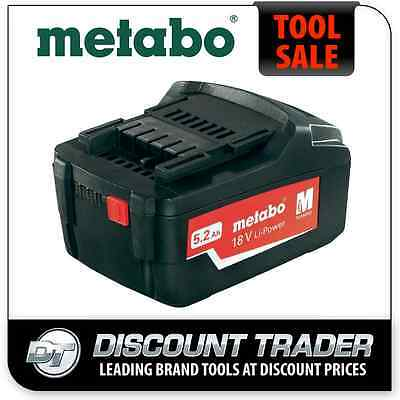 Metabo 18V Lithium-Ion Ultra Li-Extreme-Power 5.2 Ah Battery OVERSTOCK 6.25592