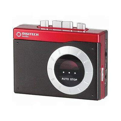 Digitech Portable Cassette Tape to MP3 Encoder with PC connection