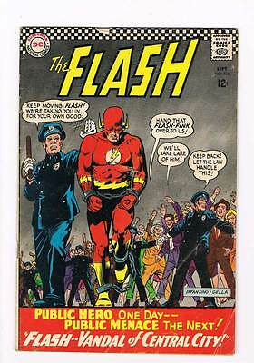 Flash # 164 Vandal of Central City ! Infantino cover grade - 4.0 scarce book !!