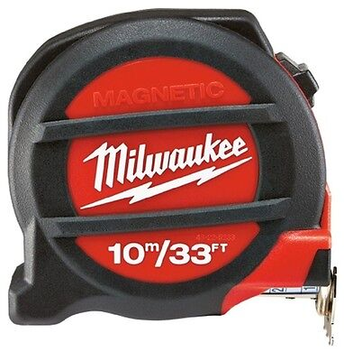 Milwaukee 48-22-5233 33 ft./10M Magnetic Tape Measure