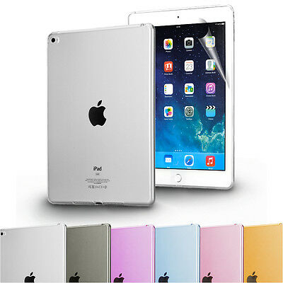 Clear Transparent TPU Silicone Case Cover for Apple iPad 2/ 3/ 4/ Air 2 / Mini