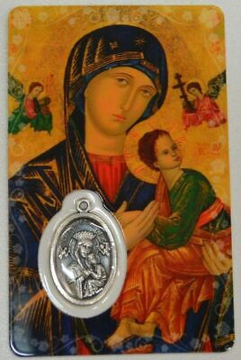 MOTHER OF PERPETUAL HELP, Window Prayer Card & Charm, 54mm x 85mm, Inspirational