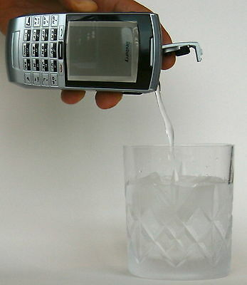 BEVBURRY PREMIUM SMART CELL PHONE FLASK LOOKS REAL