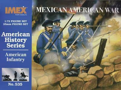 NEW IMEX 1/72 American Infantry Mexican War 535