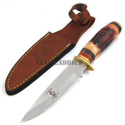 """10"""" Bone Collector Hand Made Hunting Skinning Knife Fish Skinner Bowie BC798-"""