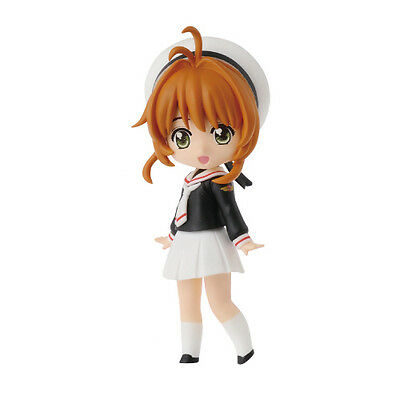 Card Captor Sakura 3'' Sakura in School Uniform Banpresto Prize Figure NEW