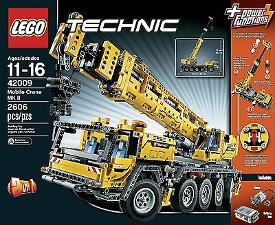 NEW & SEALED! LEGO Technic 42009 Mobile Crane MK II with 2,606 Pieces
