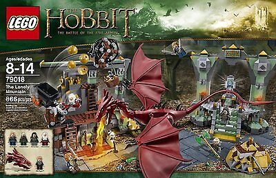 NEW & SEALED! LEGO Hobbit 79018 The Lonely Mountain