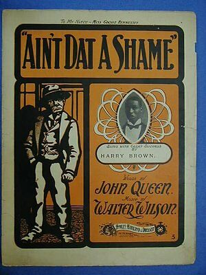 Ain't Dat A Shame-Sheet Music and Cover Art
