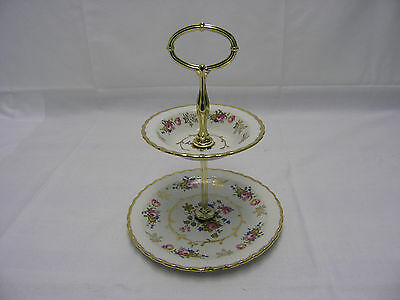 Dessert Tray Two (2) Tier Wood & Sons Made In England