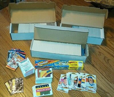 Baseball cards ..Donruss, four sports, topps cards & more lot