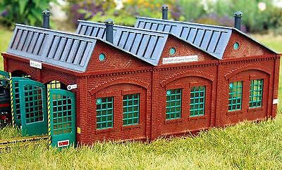 PIKO SONNEBERG LOCO SHED G Scale Building Kit  60001  New in Box