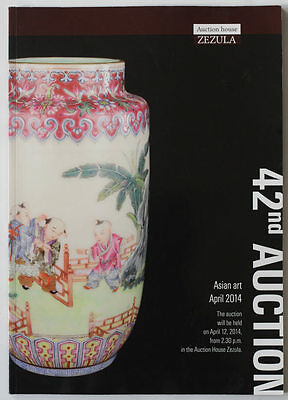 China, Japan antiques 2014 ZEZULA Asian art auction catalogue