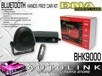 Dna Bluetooth Handsfree Car Kit - Pair Up To 4 Mobile Phones , 4 Button Remote