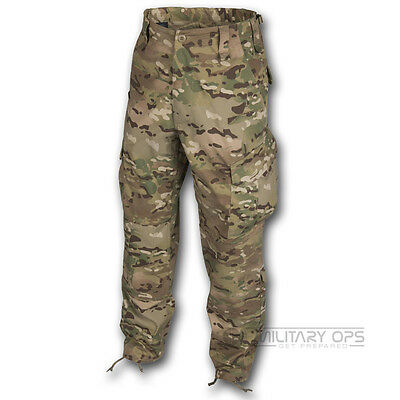 Helikon Cpu Trousers Special Forces Cargo Mens Combat Pants Camogrom Mtp