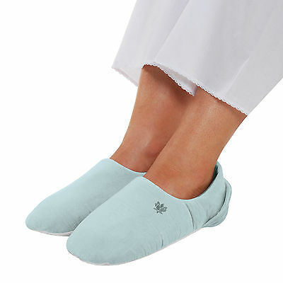 Aroma Home Soothing You Microwave Feet Warmers - Blue - Micowavable Slippers