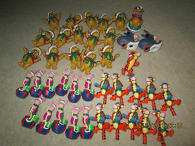 Set of 40 Winnie the Pooh Christmas Light Covers
