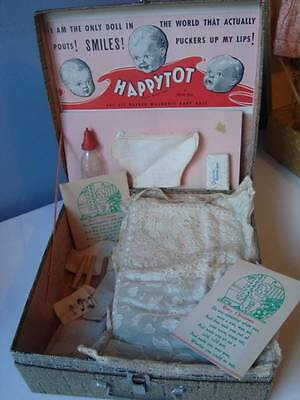 1936 American Character HappyTot Doll Box, Accessories fit Tiny Tears Dydee Baby