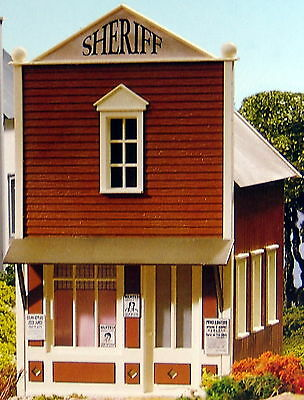 PIKO SHERIFF'S OFFICE  G Scale Building Kit #62216  New in Box