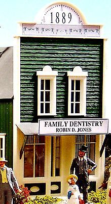 PIKO DENTIST G Scale Building Kit #62217  New in Box