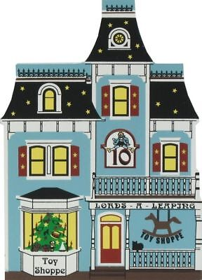 Cat's Meow Village 12 Days Christmas Ten Lord A-Leaping Toy Store #00-931 NEW