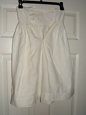 Vintage Victorian Petticoat Slip White Winter Cotton Blends Young Girls