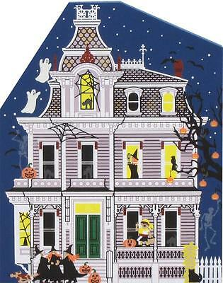Cat's Meow Village Halloween Black Cat Alley #H3 NEW Shipping Discounts