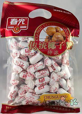 1 BAG Chun Guang Classic Coconut Candy 8.8oz China SAVE ON COMBINED SHIPPING