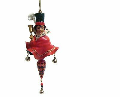 Cameo Girls Christmas Ornament CELESTE Ringing In The Holidays LV-300