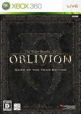 New Xbox360 The Elder Scrolls IV Oblivion Game of the Year Edition Japan Import