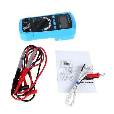 Digital Multimeter DC/AC Voltage Current DMM Temperature Tester Meter Auto Range