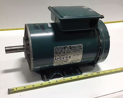 Reliance electric duty master a c motor p14g9243v for Duty master ac motor reliance electric
