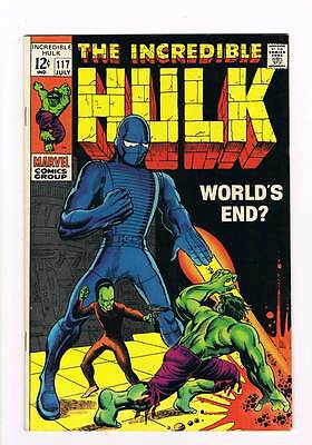 Incredible Hulk # 117  World's End ?  The Leader !  grade 7.5  hot book !!