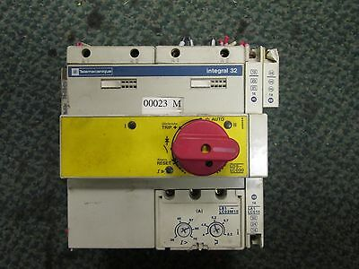 Telemecanique  Combination Motor Starter  LD5-LC030  Integral 32  38-76A  Used