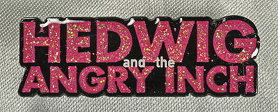 HEDWIG THE ANGRY AND THE ANGRY INCH BROADWAY SOUVENIR LAPEL PIN -