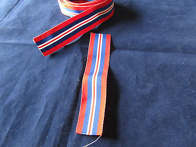 WWII War  Medal 39-45  -  Ribbon 6 inches (150mm) long # Free Postage #