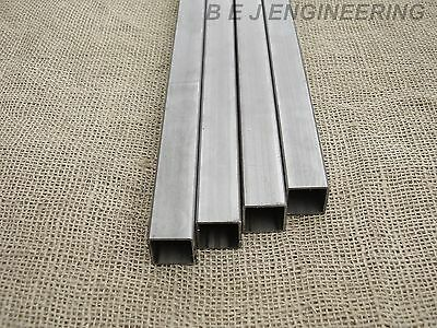 Mild Steel Box ERW 25mm x 25mm x 1.5mm  - 1000mm Pk of 4 - Square Tube