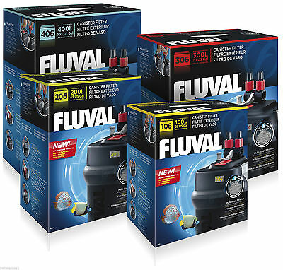 Hagen Fluval External Aquarium Fish Tank Power Filter  106,206,306,406