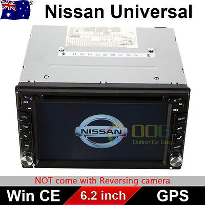 "6.2"" Double 2 DIN Car DVD GPS Navigation Stereo head unit for Nissan universal"