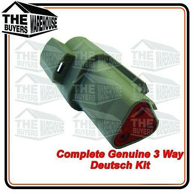 Genuine Deutsch Dt Series 3 Way Complete Kit Connector