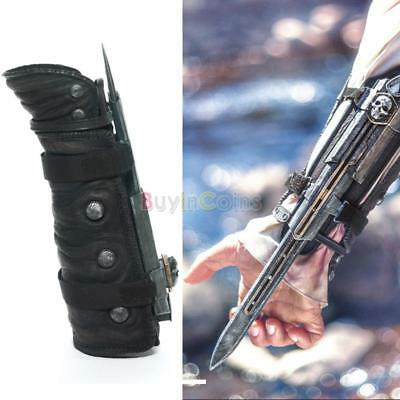 Fashion 1pcs Assassins Creed 4 Black Flag Pirate Hidden Blade Gauntlet Cosplay