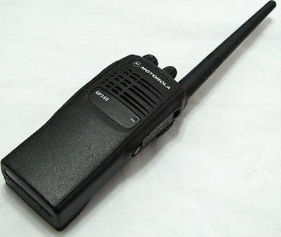 Motorola GP340 Two-Way Radio VHF 136-174 Mhz 5W 16 Channels With Accessories
