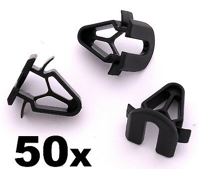 50x Volvo Plastic Trim Clips- Interior fascia panels boot linings, pillar covers