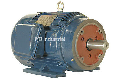 15 hp electric motor 254tc 3 phase premium efficient 3545 rpm severe duty