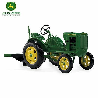 1:16-Scale Tractor With Plow: 1938 John Deere Unstyled Model L Diecast Tractor