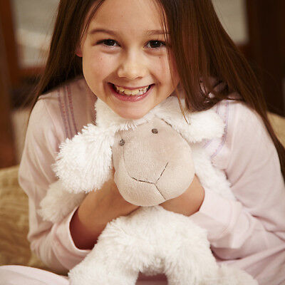 Intelex Pure Bliss Sheep - Microwavable Soft Toy Microwave Lamb Plush Hottie (L)