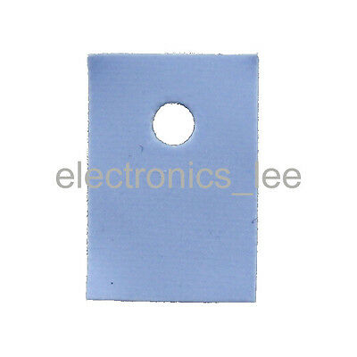 100pcs TO-3P Silicon Rubber Pad  Insulation Chip Heatsink Thermal insulator
