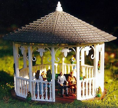 PIKO GAZEBO G Scale Building Kit 62012 New in Box