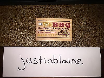 $50 Lucilles BBQ Gift Card